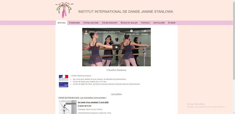 Institut Stanlowa : cours, formations en danse classique et ballet